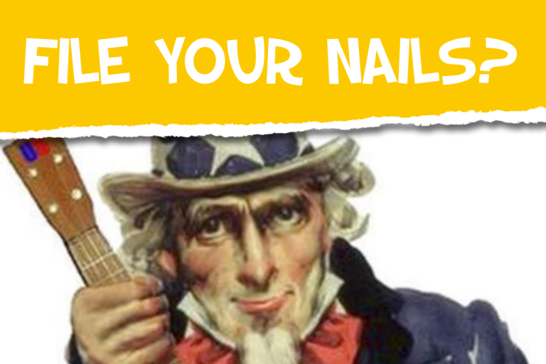 Uke Players: Do You Need to File Your Nails?