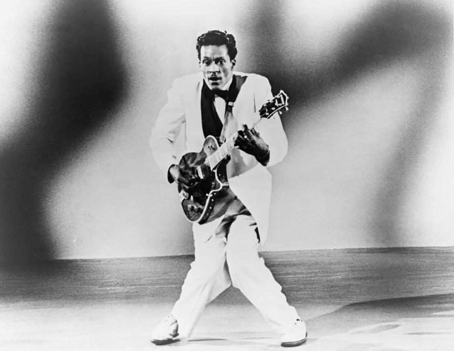 Play Chuck Berry ukulele songs and chords and riffs
