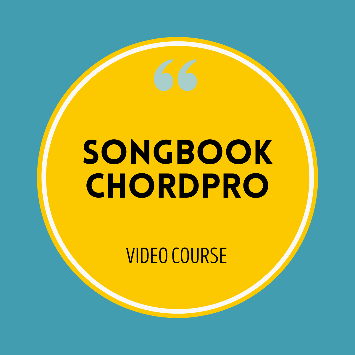 Songbook Chord Pro